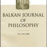 Balkan Journal of Philosophy